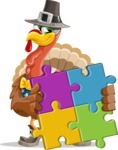 Jonathan Turkey the Patriot - Puzzle
