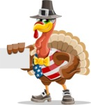 Jonathan Turkey the Patriot - Sign 1