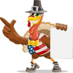 Jonathan Turkey the Patriot - Sign 2