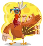 Snoody the Native Turkey - Shape 5
