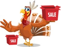 Snoody the Native Turkey - Sale 1