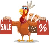 Snoody the Native Turkey - Sale 2