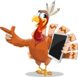 Snoody the Native Turkey - iPad 3