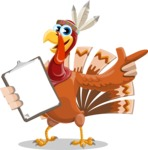 Snoody the Native Turkey - Notepad 1