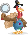 Thanksgiving Turkey Cartoon Vector Character AKA Mr. Turkey McFarm - Search