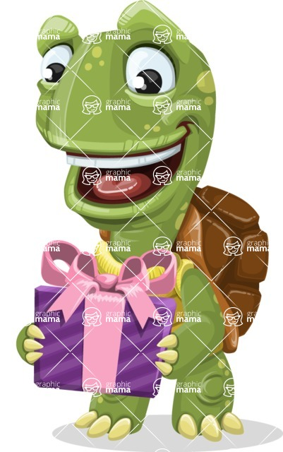 Juan the Joyful Turtle - Gift