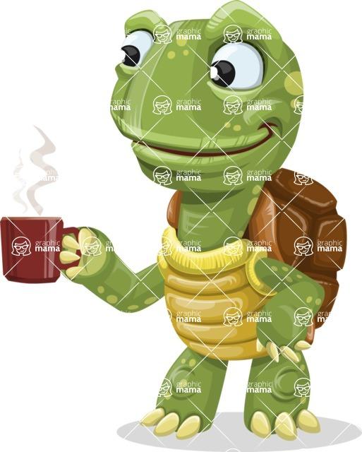 Juan the Joyful Turtle - Coffee