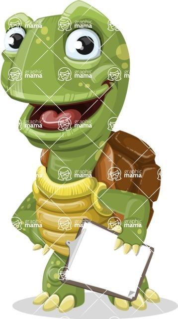 Juan the Joyful Turtle - Notepad 4