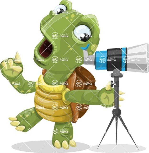 Juan the Joyful Turtle - Telescope