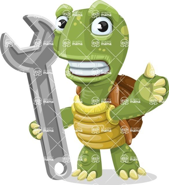 Juan the Joyful Turtle - Repair