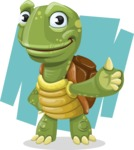 Juan the Joyful Turtle - Shape 7