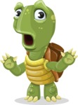 Juan the Joyful Turtle - Shocked
