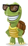 Juan the Joyful Turtle - Sunglasses