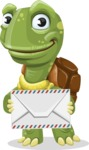 Juan the Joyful Turtle - Letter