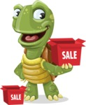 Juan the Joyful Turtle - Sale