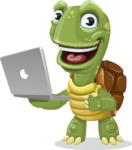 Juan the Joyful Turtle - Laptop 1