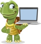 Juan the Joyful Turtle - Laptop 3