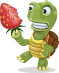 Juan the Joyful Turtle - Strawberry