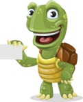 Juan the Joyful Turtle - Sign 1