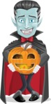 Drake Fangs - Pumpkin Lantern