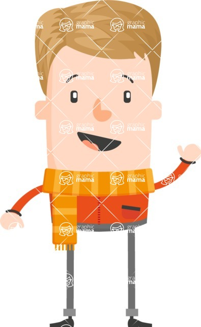 Funny Vector Cartoon Graphic Maker - Blonde university student