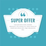 Sale Badges Vector Collection - Super Offer Vector Sale Poster