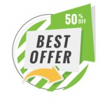 Sale Badges Vector Collection - Best Offer Badge Vector Graphic