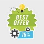 Sale Badges Vector Collection - Best Offer Badge Design Vector