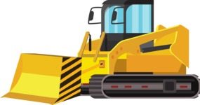 vector vehicle graphics - Flat Car, Truck, Bicycle, Plane Graphics Mega Bundle - Construction 5