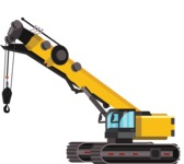 vector vehicle graphics - Flat Car, Truck, Bicycle, Plane Graphics Mega Bundle - Construction 7