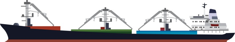 vector vehicle graphics - Flat Car, Truck, Bicycle, Plane Graphics Mega Bundle - Ship 1