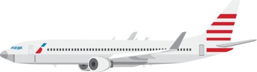 vector vehicle graphics - Flat Car, Truck, Bicycle, Plane Graphics Mega Bundle - Plane 2