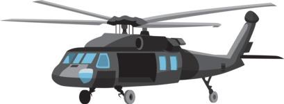 vector vehicle graphics - Flat Car, Truck, Bicycle, Plane Graphics Mega Bundle - Chopper 1