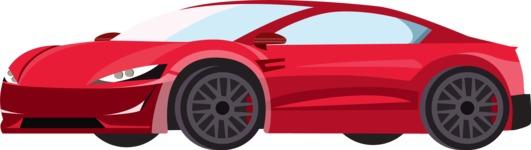 vector vehicle graphics - Flat Car, Truck, Bicycle, Plane Graphics Mega Bundle - Modern Car 4