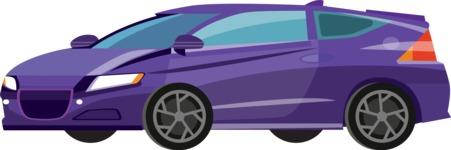 vector vehicle graphics - Flat Car, Truck, Bicycle, Plane Graphics Mega Bundle - Modern Car 5