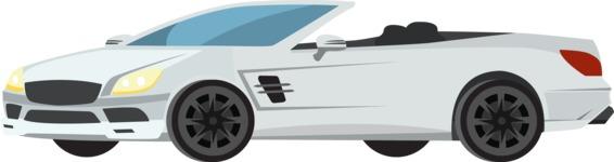 vector vehicle graphics - Flat Car, Truck, Bicycle, Plane Graphics Mega Bundle - Modern Car 12