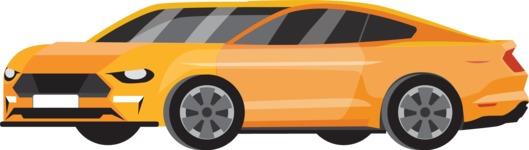 vector vehicle graphics - Flat Car, Truck, Bicycle, Plane Graphics Mega Bundle - Sport Car 3