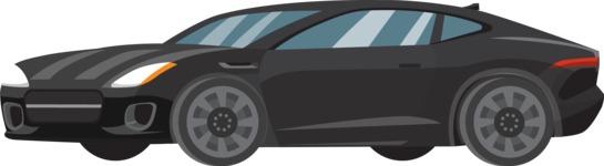 vector vehicle graphics - Flat Car, Truck, Bicycle, Plane Graphics Mega Bundle - Sport Car 6