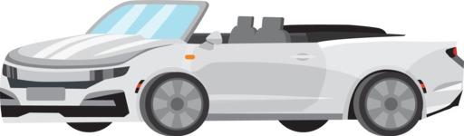 vector vehicle graphics - Flat Car, Truck, Bicycle, Plane Graphics Mega Bundle - Sport Car 11