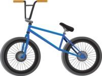 vector vehicle graphics - Flat Car, Truck, Bicycle, Plane Graphics Mega Bundle - Bike 3