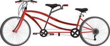 vector vehicle graphics - Flat Car, Truck, Bicycle, Plane Graphics Mega Bundle - Bike 5