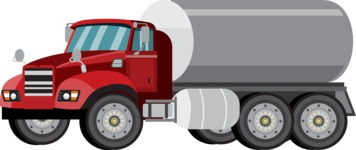 vector vehicle graphics - Flat Car, Truck, Bicycle, Plane Graphics Mega Bundle - Truck 4