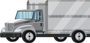 vector vehicle graphics - Flat Car, Truck, Bicycle, Plane Graphics Mega Bundle - Truck 11