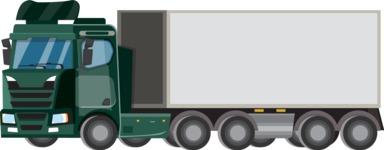 vector vehicle graphics - Flat Car, Truck, Bicycle, Plane Graphics Mega Bundle - Truck 12