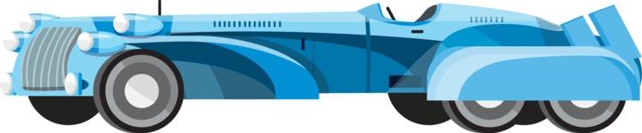 vector vehicle graphics - Flat Car, Truck, Bicycle, Plane Graphics Mega Bundle - Retro Car 9