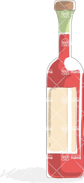 Italy Themed Graphic Collection - Wine 1