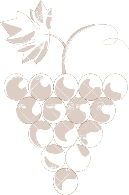 Italy Themed Graphic Collection - Wine 35