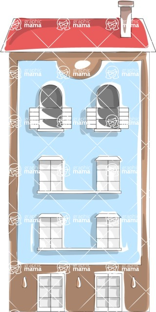 Italy Themed Graphic Collection - Architecture 16