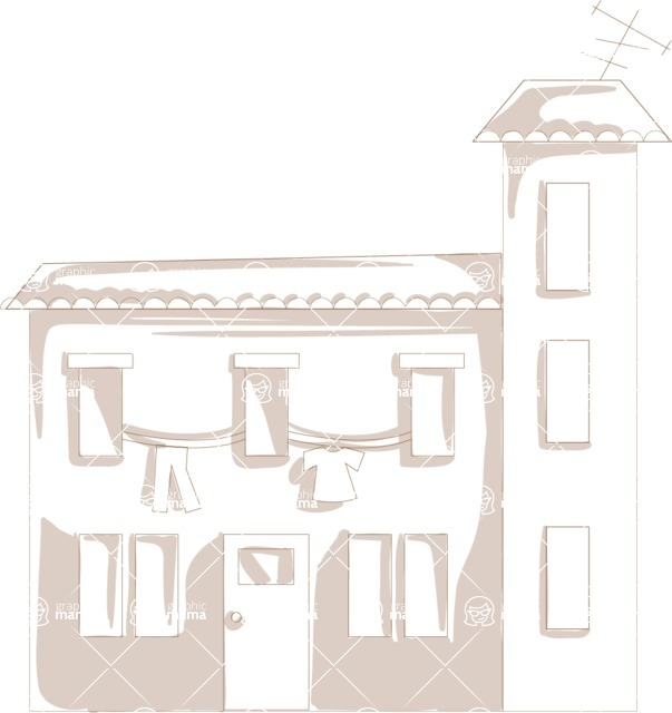Italy Themed Graphic Collection - Architecture 23