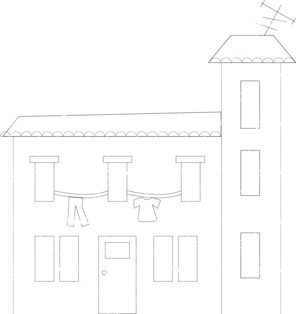 Italy Themed Graphic Collection - Architecture 24